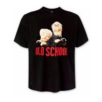 Muppets T-Shirt - Statler & Waldorf Old School (schwarz)