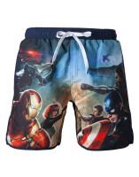 Marvel Badeshorts - Captain America/Avengers (marine)