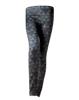 Zelda Damen Leggings Green Black Hyrule (schwarz)