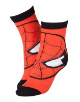 Amazing Spiderman Socken - Spiderman red Head (39-42)