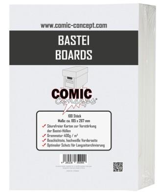 Comic Concept Bastei Boards (185 x 267 mm)