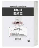 Comic Concept Bastei Boards (185 x 267 mm)