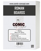 Comic Concept Roman Boards (157 x 230 mm)