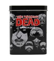 Walking Dead Heftpflaster in Blechdose (20 Stück)