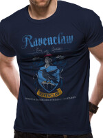 Harry Potter T-Shirt - Ravenclaw Quidditch Wappen (navy)