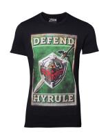 Legend of Zelda T-Shirt - Propaganda Sword & Shield...