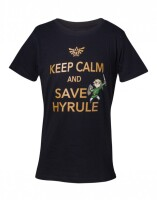 The Legend of Zelda Jugend Youth T-Shirt Keep calm and...