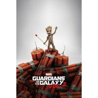 Marvel Comics Poster: Guardians of the Galaxy Groot Dynamite
