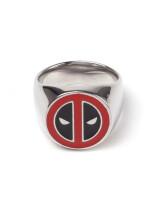 Deadpool Ring: Signet Ring (verschiedene Größen)