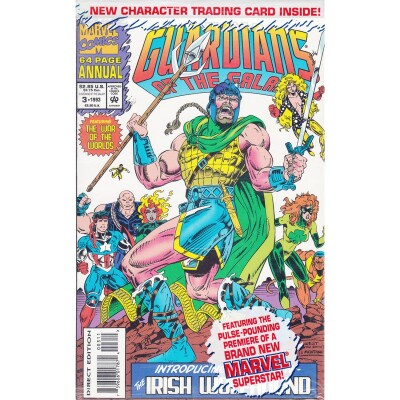 Guardians of the Galaxy Annual 3 (Vol. 1) 1993 /w Card