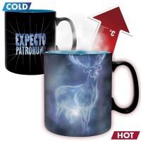 Harry Potter Keramiktasse - Heat Change Patronus (460 ml)