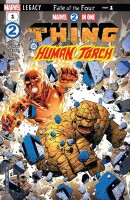 Marvel Two in One 1 Thing & Human Torch