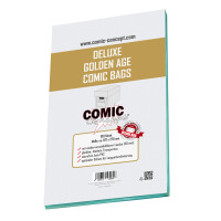 Comic Concept Deluxe Golden Age Comic Bags (197 x 270 mm)...