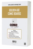 Comic Concept Golden Age Comic Boards (193 x 266mm)