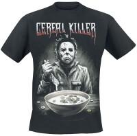 Halloween T-Shirt - Cereal Killer (schwarz)