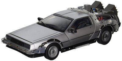 Zurück in die Zukunft (Back to the Future) 2: Time Machine DeLorean MK1 Replika 1/15