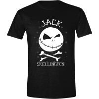 Nightmare Before Christmas T-Shirt - Jack Skellington Face