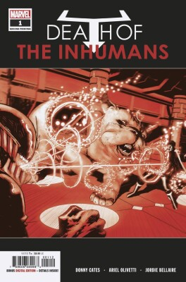 Death of The Inhumans 1 2nd Printing