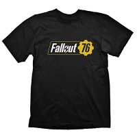 Fallout 76 T-Shirt - Logo (schwarz)