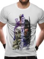 Thor Ragnarok T-Shirt - Split Hulk/Thor (weiß)