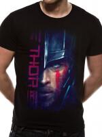 Thor Ragnarok T-Shirt - Gladiator Thor Script (schwarz)