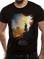 Phantastische Tierwesen T-Shirt - Newt Scamander Train...