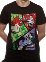 Batman T-Shirt - Villainesses (schwarz)