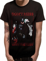 Batman T-Shirt - Dont mess with the best (schwarz)