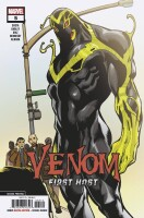 Venom First Host 5 2nd Printing Bagley Variant