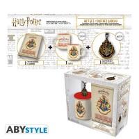 Harry Potter Geschenkbox: Hogwarts Wappen (Keramiktasse,...