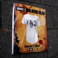 Walking Dead Damen T-Shirt (Girlie): TWD Logo Rick Grimes...