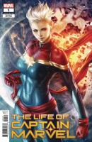 Life of Captain Marvel 1 Artgerm Variant 2nd Printing