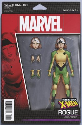 What if? X-Men 1 Rogue Action Figure Variant
