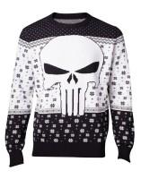 Punisher Pullover im Weihnachtslook - Punisher Logo...