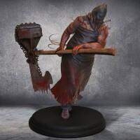 Resident Evil Resin-Statue: 1/4 Henker Majini 61 cm...