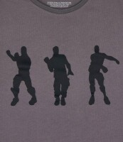 Fortnite T-Shirt - Dance (dunkelgrau)
