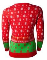 Nintendo Super Mario Damen-Pullover im Weihnachtslook -...