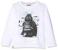 LEGO Star Wars Kinder Langarm-Shirt - Vader & Trooper...