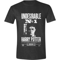 Harry Potter T-Shirt - Undesirable No. 1 (Anthrazit)