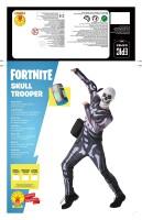 Fortnite Kostüm für Jugendliche Skull Trooper...