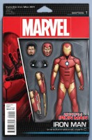 Invincible Iron-Man 1 (Vol. 4) Action Figure Variant Cover