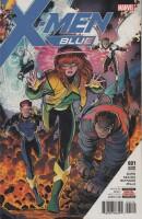 X-Men Blue 1 2nd Printing Arthur Adams Variant