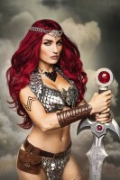 Red Sonja 3 (Vol. 4) Virgin Cosplay Variant (Cover F) 1:10