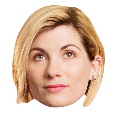 Doctor Who Maske (Pappe) 13th Doctor Jodie Whittaker