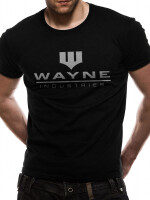 Batman T-Shirt - Wayne Industries (schwarz)