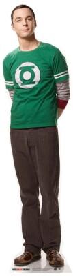 Big Bang Theory Pappaufsteller (Stand Up) - Sheldon (Star-Mini) (92 cm)