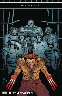 Return of Wolverine 4 (of 5) Shalvey Variant