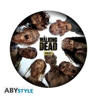 The Walking Dead Mousepad: Round of Zombies
