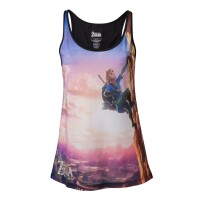 Legend of Zelda Tank Top (Damen): Allo-Over Breath of the...