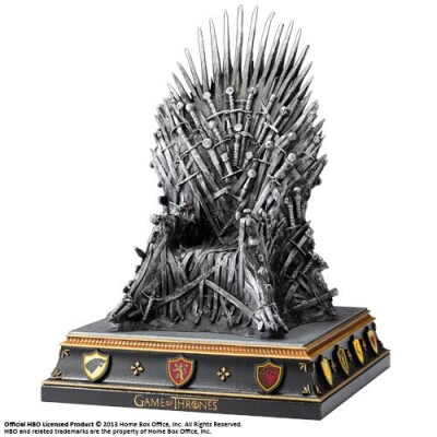 Game of Thrones Statue Resin-Buchstütze - Eiserner Thron